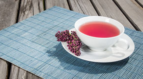 Tea of pomegranate. Stock Images