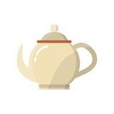 Tea porcelain jug. Icon vector illustration graphic design Stock Image