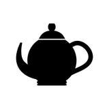 Tea porcelain jug. Icon vector illustration graphic design Royalty Free Stock Images