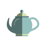 Tea porcelain jug. Icon vector illustration graphic design Stock Images