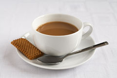 Tea and biscuit Stock Photos