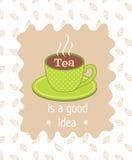 Tea poster Royalty Free Stock Photo
