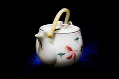 Tea pot. For hot drink Royalty Free Stock Image
