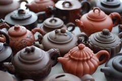 Tea Pot. Chinese traditional handwork: Ceramic Tea Pot (Zisha Tea Pot royalty free stock photo