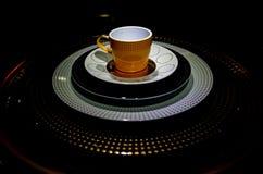 Tea pot artifact. Art of tea pot, artifact of porcelain Stock Photo