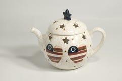 Tea pot candle burner Stock Image