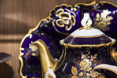 Tea pot closeup details Royalty Free Stock Photo