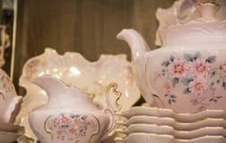 Tea pot closeup details Royalty Free Stock Photography
