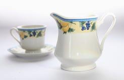 Tea pot and cup Royalty Free Stock Photos
