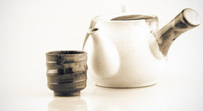 Tea pot-hot Royalty Free Stock Image