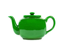 Tea pot isolated Royalty Free Stock Images