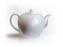 Tea pot,   realistic object Royalty Free Stock Image