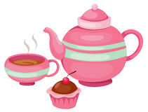 Tea pot set Stock Photography