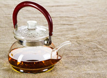Tea pot studio photo Royalty Free Stock Images