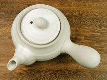 Tea pot-upper view Royalty Free Stock Photos
