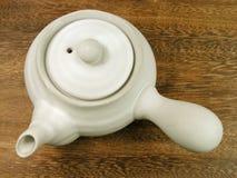 Tea pot-upper view royalty free stock photos