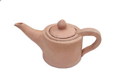 Tea pot. On white background Stock Photo