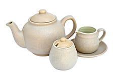 Free Tea Pot With Cup And Milk Jug Stock Photo - 22643960