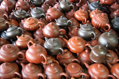 Tea pots Stock Image