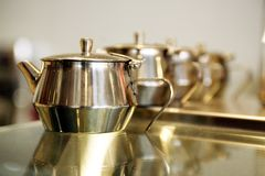 Tea Pots Royalty Free Stock Images