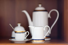 Tea pottery Stock Images