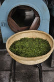 Tea processing Royalty Free Stock Images