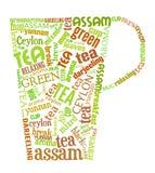 Tea rånar vektor illustrationer