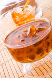Tea with rock candy Stock Photo