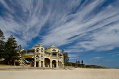 Tea-rooms de la India en la playa de Cottesloe foto de archivo libre de regalías