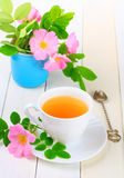 Tea with rose hip Stock Photography