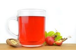 Tea of rose hip Stock Photos