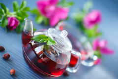 Tea with rose hips Stock Photography