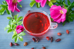Tea with rose hips Royalty Free Stock Photography