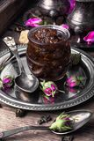 Tea rose preserves Royalty Free Stock Image
