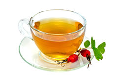 Tea with rosehip in a cup Stock Photography