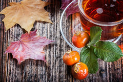Tea with rosehip Royalty Free Stock Photography