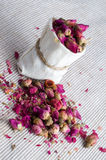 Tea from roses Stock Photography