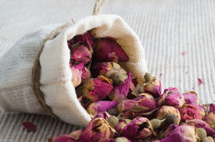 Tea from roses Stock Images