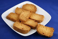 Tea rusk Royalty Free Stock Images