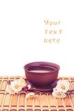 Tea & sakura_5 Royalty Free Stock Image