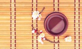 Tea & sakura_8 Stock Photography