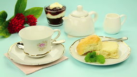 Tea And Scones Royalty Free Stock Image