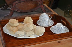 Tea & scones Stock Photos