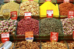 Tea selection Stock Photos