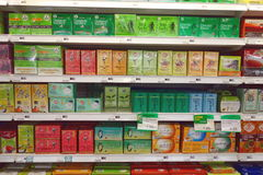 Tea Selection Stock Images