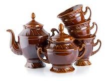 Tea service(0).jpg Royalty Free Stock Photo