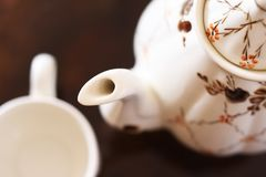 Tea service Stock Images