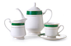 Tea service Royalty Free Stock Photos