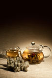 Tea service Royalty Free Stock Photo