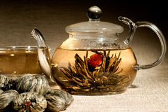 Tea service Stock Photography